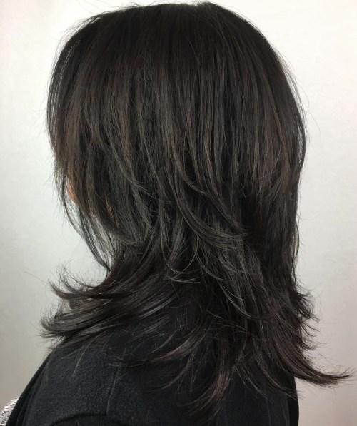 Short Feather Cut